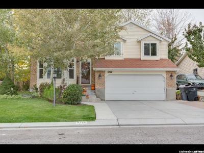 South Jordan Single Family Home For Sale: 9778 S Tayside Dr