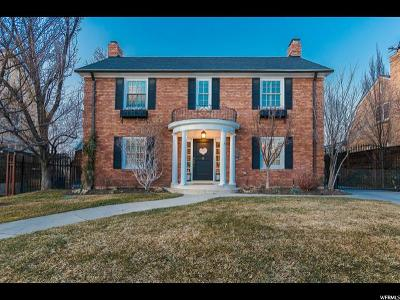 Salt Lake City UT Single Family Home For Sale: $1,250,000