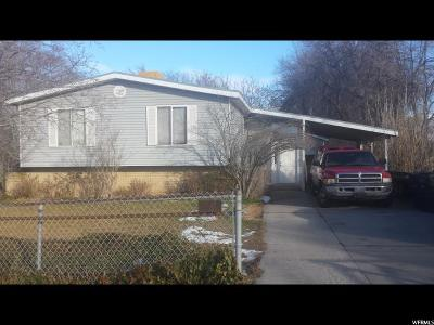 Salt Lake County Single Family Home For Sale: 3935 S 6000 W
