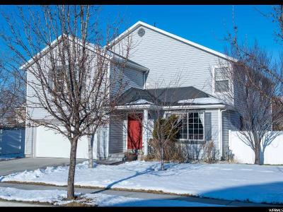Stansbury Park Single Family Home For Sale: 6654 N Old Mill Rd