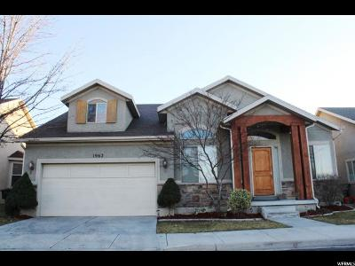 Cottonwood Heights UT Single Family Home For Sale: $489,500