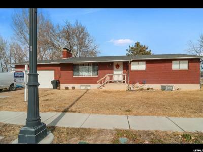 Clinton Single Family Home For Sale: 1084 W 800 N