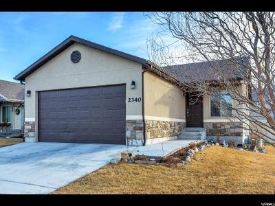 Eagle Mountain Single Family Home For Sale: 2340 E Ox Yoke Dr
