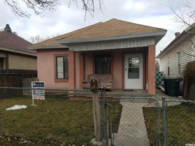 Salt Lake City Single Family Home For Sale: 126 W Lucy Ave