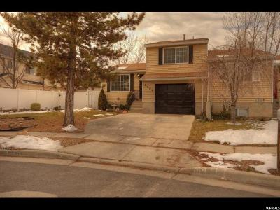West Jordan Single Family Home For Sale