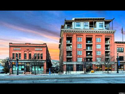Salt Lake City Condo For Sale: 328 W 200 S #602