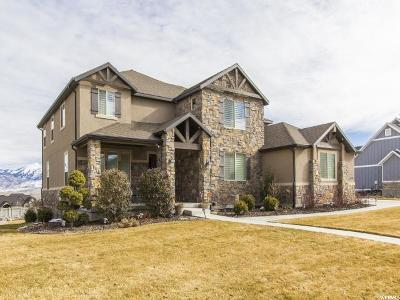 Bluffdale Single Family Home For Sale: 14799 S Castle Valley Dr