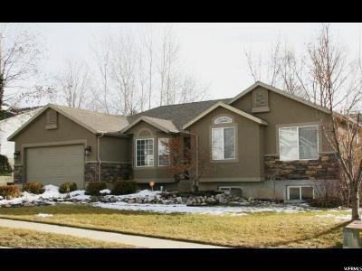 Layton Single Family Home For Sale: 1628 E 2050 N