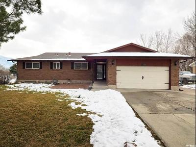 Taylorsville Single Family Home For Sale: 1421 W Diane Dr