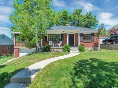 Salt Lake City Single Family Home For Sale: 2549 E Wilmington Ave S