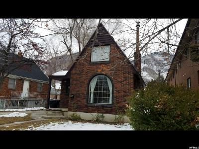 Provo Single Family Home For Sale: 456 N 500 E. E