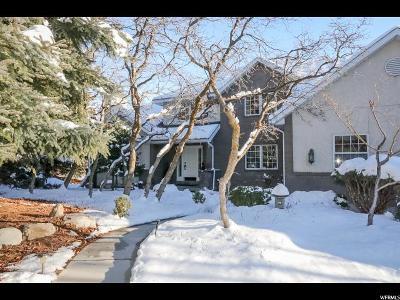 Salt Lake City Single Family Home For Sale: 1804 E Fort Douglas