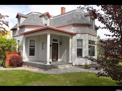 Brigham City Single Family Home For Sale: 412 S Main
