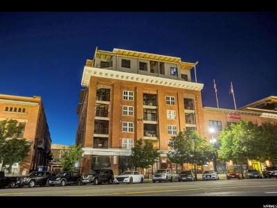 Salt Lake City Condo For Sale: 328 W 200 S #608