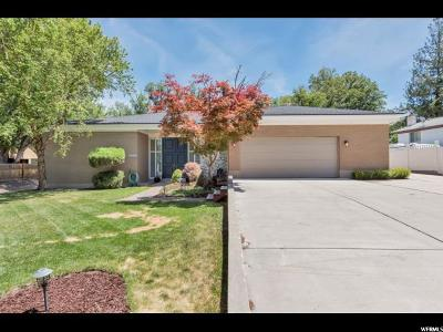 Holladay Single Family Home For Sale: 5455 S Woodcrest Dr E