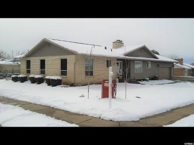 Kaysville Single Family Home For Sale: 436 E Pin Oak Cir