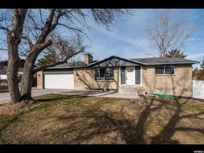 Taylorsville Single Family Home For Sale: 2954 W 5685 S