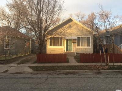 Ogden Single Family Home For Sale: 1024 Capitol St