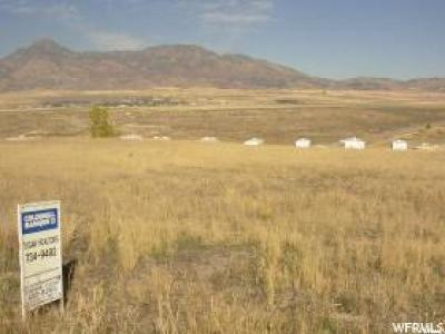 Plymouth UT Residential Lots & Land For Sale: $17,500