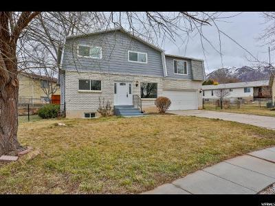 Layton Single Family Home For Sale: 1313 E Bruce Cir N