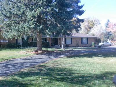 Salt Lake City Single Family Home For Sale: 1931 Nunley Cir