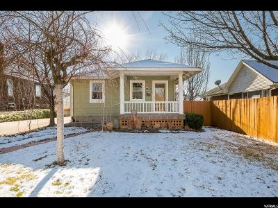 Salt Lake City Single Family Home For Sale: 1332 E Sherman Ave