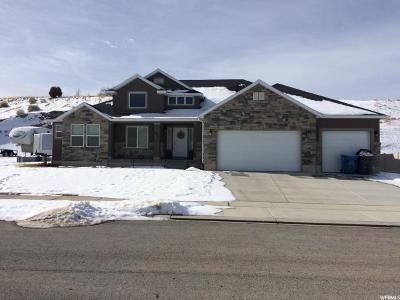 Santaquin Single Family Home For Sale: 618 Summit Trails