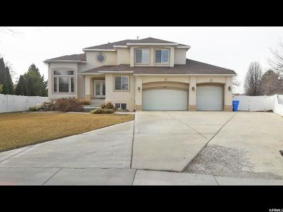 Riverton Single Family Home For Sale: 12858 S Cancun Way W