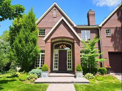 Salt Lake City Single Family Home For Sale: 1547 E Yale Ave S