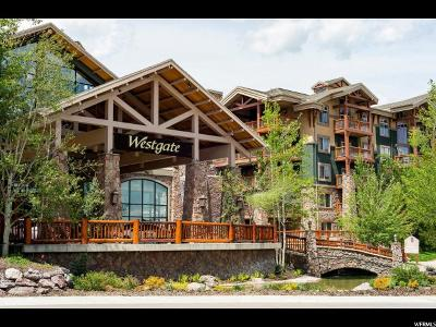 Park City Condo For Sale: 3000 Canyons Resort Dr #4714