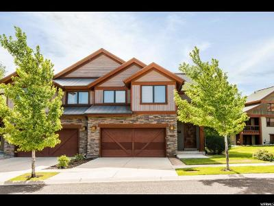 Wasatch County Townhouse For Sale: 1257 Stillwater Dr