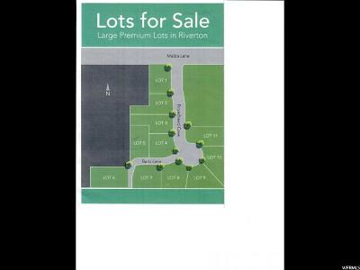 Riverton Residential Lots & Land For Sale: 11924 S Broadhead Cv W