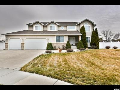 South Jordan Single Family Home For Sale: 9916 S Heavenly Cir W