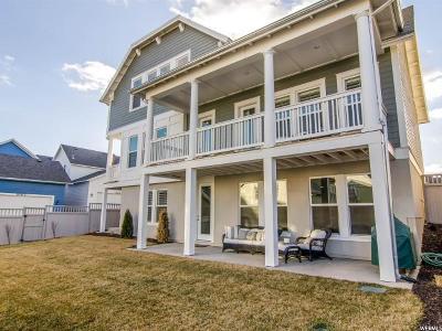 South Jordan Single Family Home For Sale: 10597 S Lake Terrace Ave W