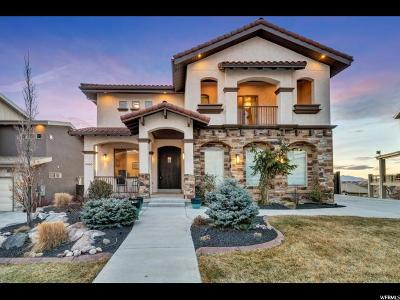 Lehi Single Family Home For Sale: 4655 N Toscana Hills Dr. Dr