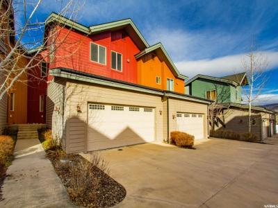Park City Townhouse For Sale: 8143 N Courtyard Loop E #8