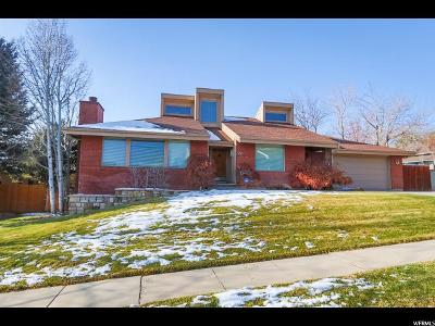 Salt Lake City Single Family Home For Sale: 825 N Hilltop Rd