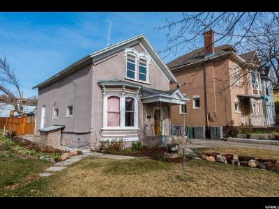 Salt Lake City Single Family Home For Sale: 655 E 200 S