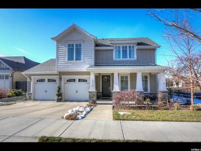 Salt Lake City Single Family Home For Sale: 1710 Soleil Cv