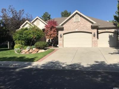 Sandy Single Family Home For Sale: 8229 S Rossett Green Ln
