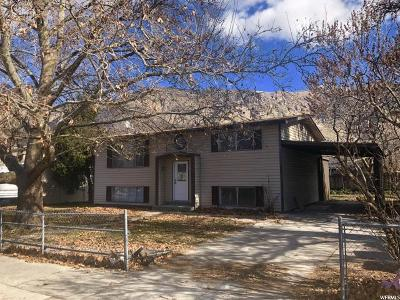 Brigham City Single Family Home For Sale: 824 N 250 W
