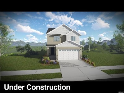Lehi Single Family Home For Sale: 4092 W 1700 N #617