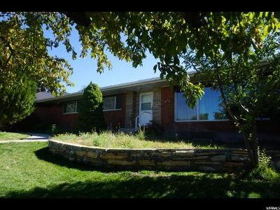 Salt Lake City Single Family Home For Sale: 2474 E Village Cir