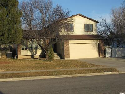 Taylorsville Single Family Home For Sale: 6491 S Coybrook Dr W