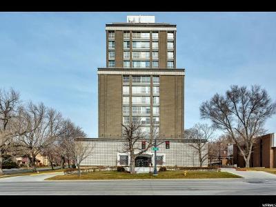 Salt Lake City Condo For Sale: 777 E South Temple S #5E
