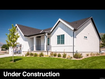 Provo Single Family Home For Sale: 1660 S 675 W #LOT252