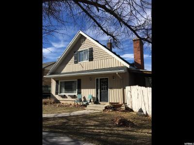 Brigham City Single Family Home For Sale: 146 S 400 E