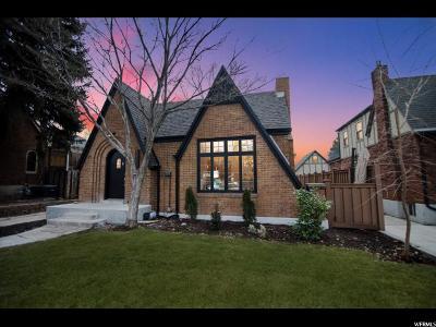 Salt Lake City Single Family Home For Sale: 1402 E Laird Ave