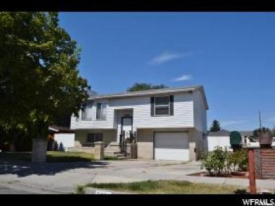 Taylorsville Single Family Home For Sale: 3434 W 5470 S