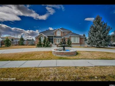 West Jordan Single Family Home For Sale: 9202 S Kensington Park Dr W